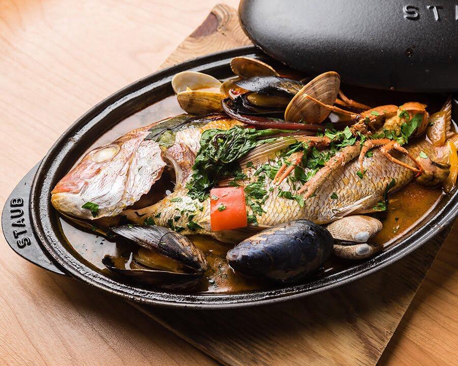 OCEAN BISTRO 旬の食材 ブイヤベース